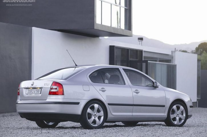 Skoda Octavia II – o masina construita pe aceeasi platforma cu Audi A3